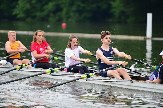 Rowing at Wellington College via flickr
